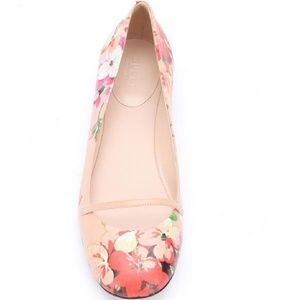 Gucci Blush Bloom Print FLATS